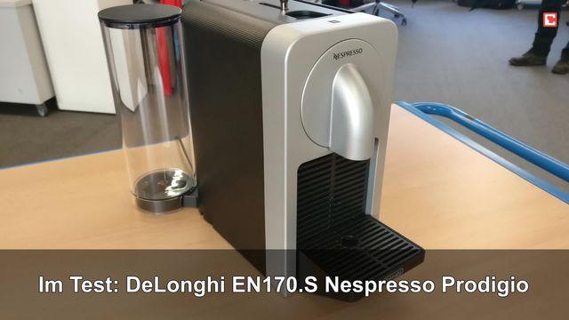 Im Test: DeLonghi EN170.S Nespresso Prodigio