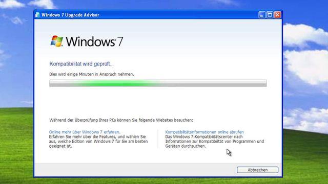 Umstieg Windows XP auf Win 7 - Anleitung - Praxis-Tipp