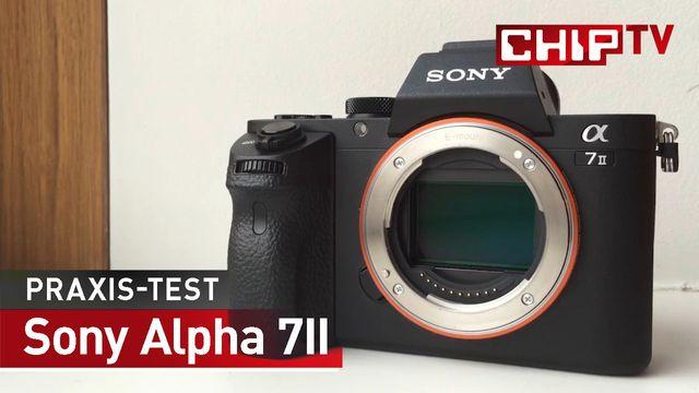 Sony Alpha 7II - Praxis-Test