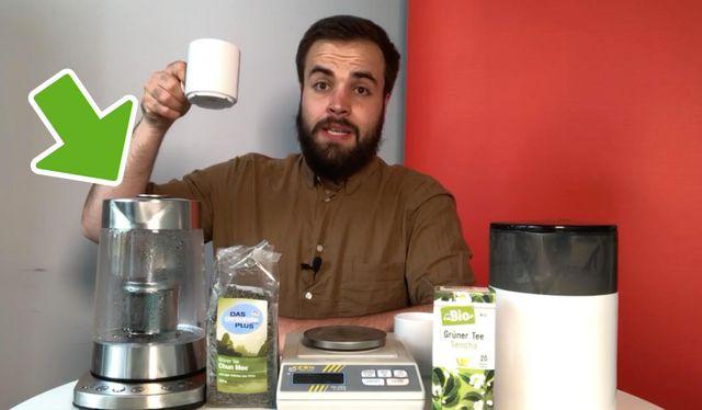Tee-Maschine im Praxis-Test: Besserer Tee für weniger Geld