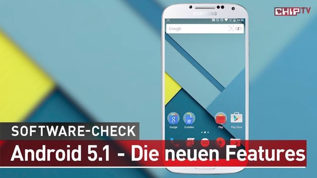 Android 5.1 Lollipop - Software-Check