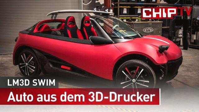 Das weltweit erste Auto aus dem 3D-Drucker