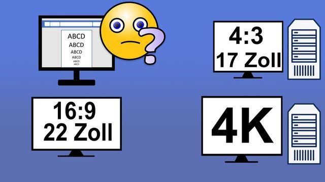 Monitorgrößen: So finden Sie den perfekten Bildschirm