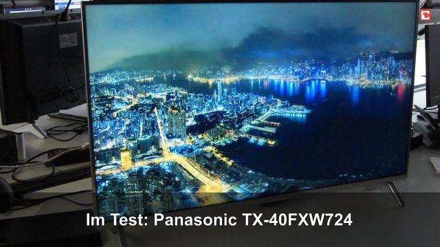 Panasonic TX-40FXW724: Eindrücke aus dem Testlabor