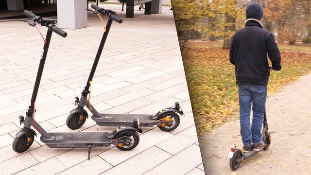 Trekstor und Technostar E-Scooter im Test