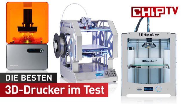 Der beste 3D-Drucker - Vergleich und Test