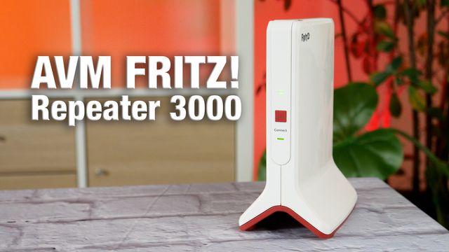 AVM Fritz!Repeater 3000 im Test