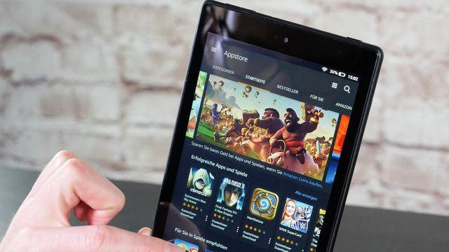 Amazon Fire HD 8 (2018) im Test