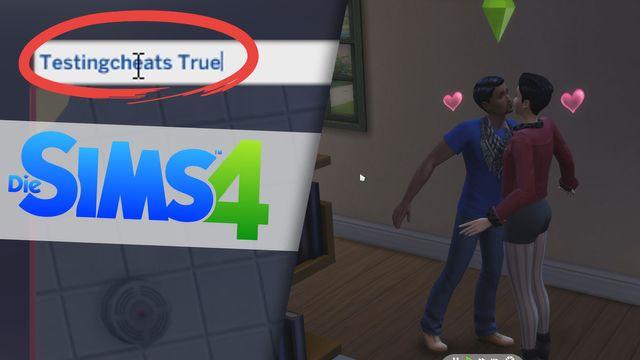 Sims 4: Beziehungen mit Cheat bearbeiten