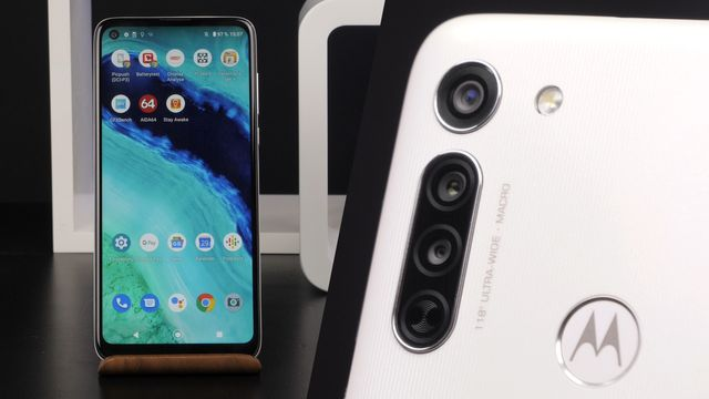 Motorola Moto G8 im Test