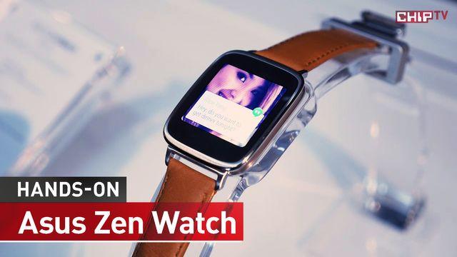 Asus Zen Watch - Erster Praxis-Test - IFA 2014