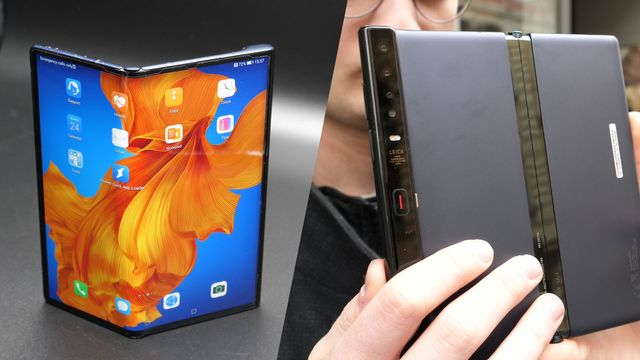 Huawei Mate Xs im Hands-On