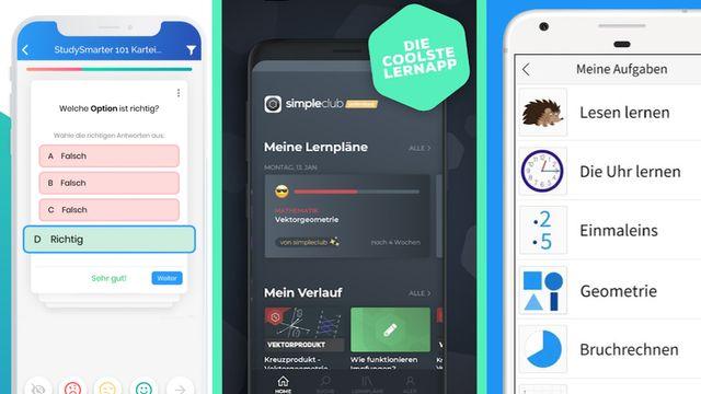 Die besten Lern-Apps für Schüler
