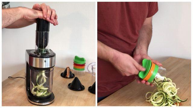 Gemüse-Schneider im Praxis-Test: Zucchini-Nudeln besser per Hand oder Maschine?