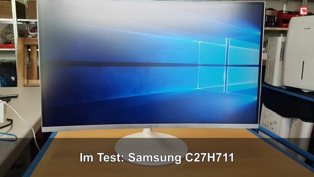 Samsung C27H711: Eindrücke aus dem Testlabor