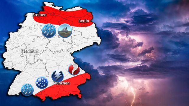 Hochwasser-Alarm von Hamburg bis Berlin