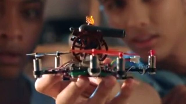 FlyBrix Bausatz: Lego Drohne selbst bauen