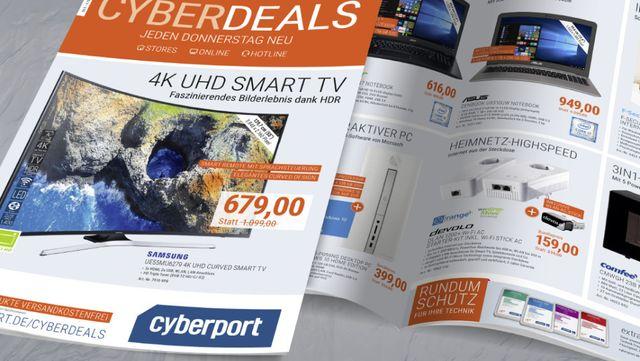 Cyberport-Flyer KW37 2017