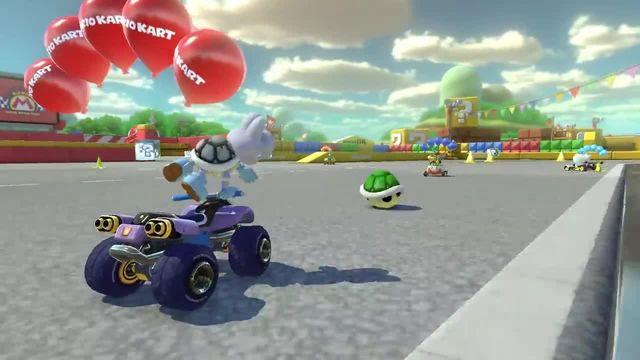 Nintendo presents: Mario Kart 8 Deluxe