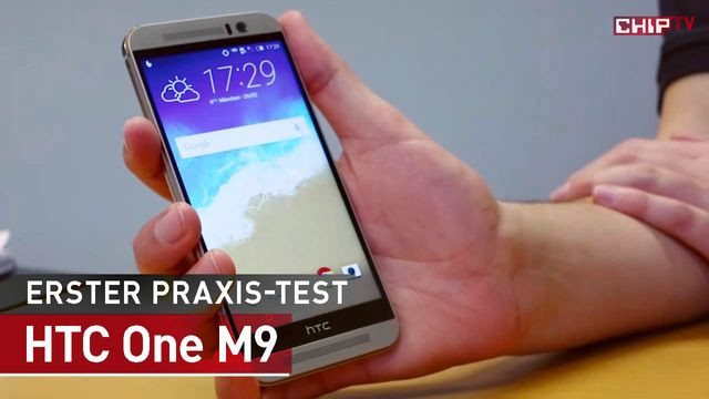 HTC One M9 - Handy - Erster Praxis-Check