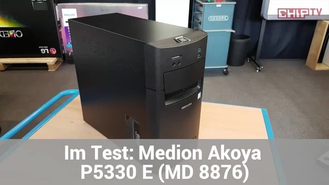 Medion Akoya P5330 E: Eindrücke aus dem Testlabor