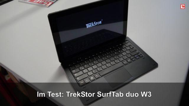 Im Test: TrekStor SurfTab duo W3