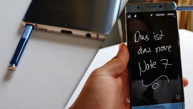 Samsung Galaxy Note 7 im Praxistest