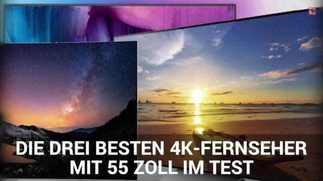 Starke 4K-TVs mit 55 Zoll