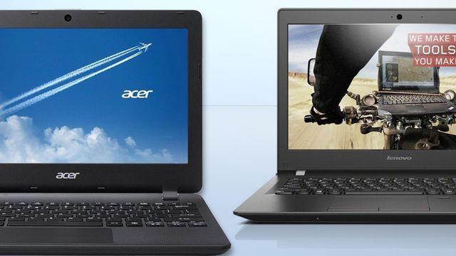 Günstige Notebooks bis 500 Euro mit SSD
