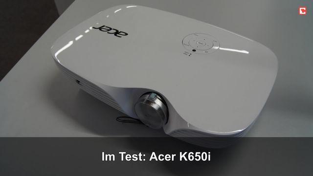 Acer K650i: Eindrücke aus dem Testlabor