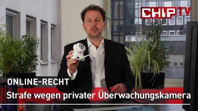 Strafe wegen privater Überwachungskamera? - Rechtsanwalt Solmecke klärt auf