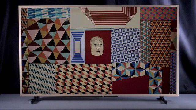 """Samsung TV """"The Frame"""" (UE55LS003) im Review"""