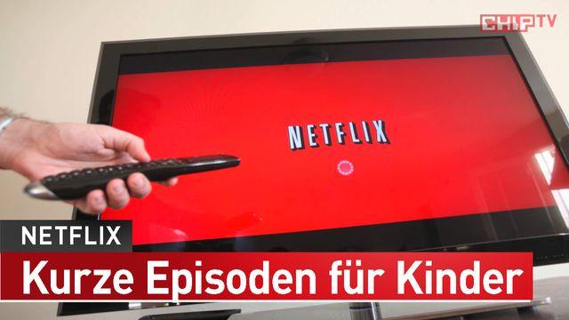 Netflix für Kinder: Kurzepisoden vor dem Zubettgehen