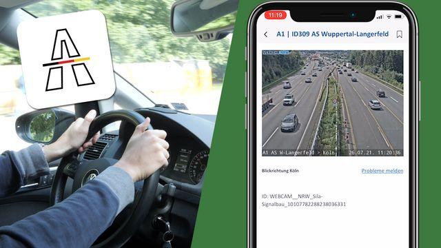 Neue Autobahn-App: Das kann die App vom Bund