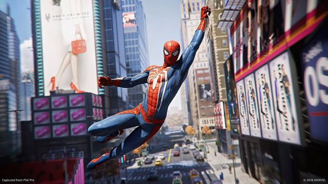 Spiderman (PS4) - Gameplay Trailer