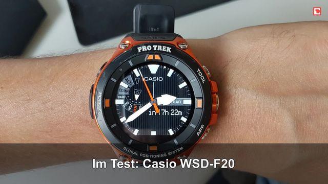 Casio WSD-F20: Eindrücke aus dem Testlabor