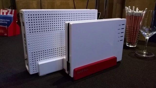 AVM FritzBox 7580 und 6590 vorgestellt - Erster Eindruck