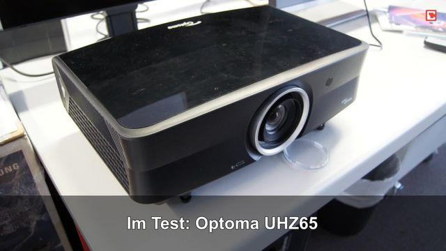 Optoma UHZ65: Eindrücke aus dem Testlabor