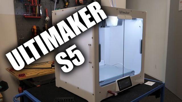 3D-Drucker Ultimaker S5 Dual Extruder im Review