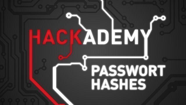Hackademy #7 - Passwort-Hashes