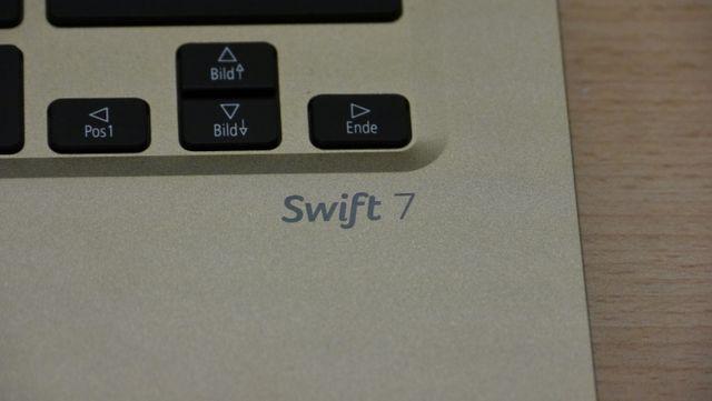 Im Test das Acer Swift 7, das dünnste Notebook der Welt