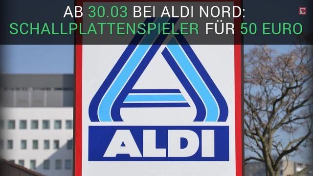 Aldi-Schnäppchen: Schallplattenspieler für 50 Euro