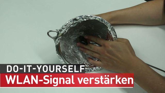 Surf-Stick: WLAN-Signal verstärken - Do it yourself