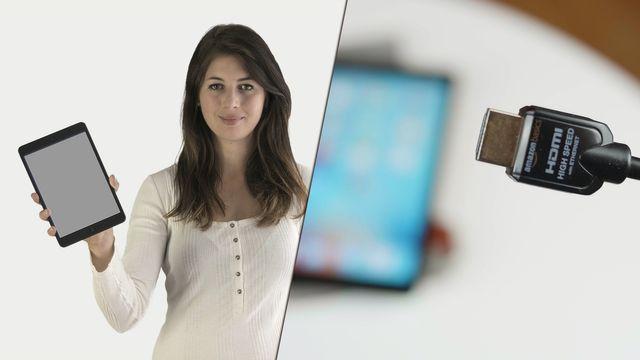 Tablet mit TV verbinden - so geht's