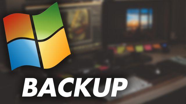 Windows 10: Backup erstellen