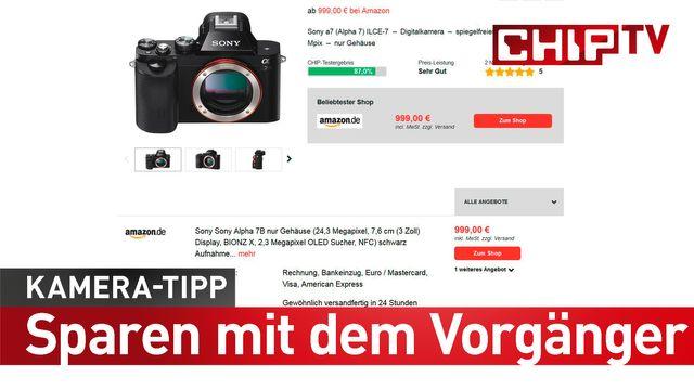 Kamera-Tipp: Geld sparen mit dem Vorgänger-Modell