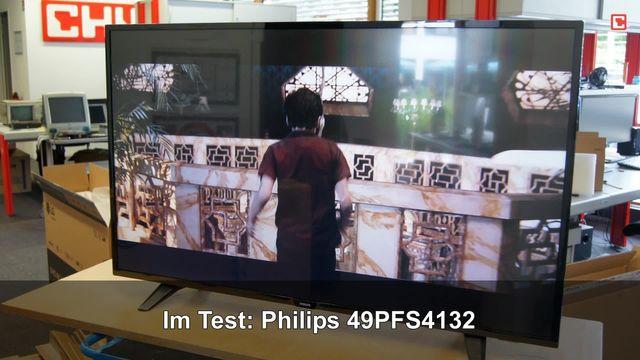 Philips 49PFS4132: Eindrücke aus dem Testlabor