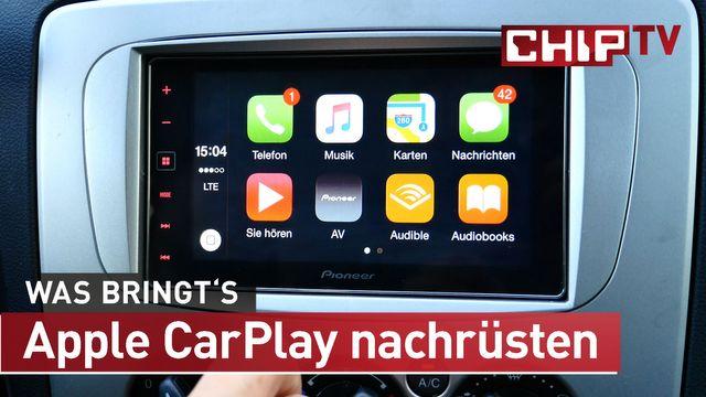 CarPlay nachrüsten - So kommt Apples iPhone einfach ins eigene Auto