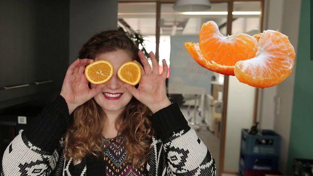 Weiße Haut bei Orangen: Unbedingt mitessen
