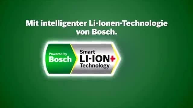 Bosch präsentiert: Das 18 Volt Lithium-Ionen Akkusystem Power4All